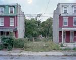Daniel Traub:  Lot, North Preston Street near Fairmount Avenue, West Philadelphia, 2010