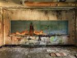 Dave Jordano: Room Detail 29, Chanute AFB, Rantoul, IL