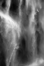 David H. Gibson: Water Cascade, 07 1617, British Columbia, Canada