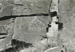 Edward Ranney: Petroglyph Panel, The Southern Creston, Galisteo Basin, NM