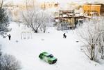 Frank Ward: Dorm View, Irkutsk Linguistic University, Siberia, 2008