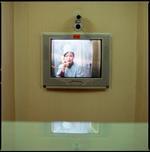 Hiroshi Watanabe: Visitors Booth, Pyongyang Maternity Hospital, North Korea