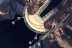 Jamey Stillings: Bridge Shadow #1, Aerial View, January 14, 2011
