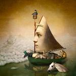 Kindred Spirits: Maggie Taylor – Ship of fools, 2018