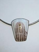 Light and Metal: Nissa Kubly, Enamel Necklace II