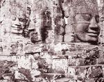 Linda Connor: Heads, Angkor Thom, Cambodia, 1999