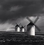 Michael Kenna: Quixote's Giants, Study 1, Campo de Criptana, Spain, 1996