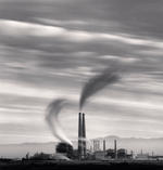 Michael Kenna: Moss Landing Power Station, Study 2, California, USA, 1987