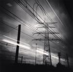 Michael Kenna: Thalys View, Brussels, Belgium, 2010