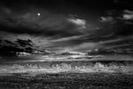 Mitch Dobrowner: Moonrise Trona, 2009
