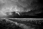 Mitch Dobrowner: Tornado Over Farm, 2017