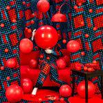 Patty Carroll: Red Balls