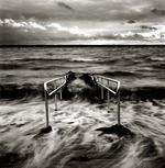 Peter Merts: Handrail Into Surf -- Helsingborg, Sweden, 1998