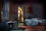 Richard Tuschman: Pink Bedroom (Still Life At Night), 2013