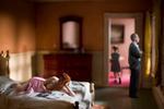 Richard Tuschman: Pink Bedroom (Family)