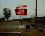Steve Fitch: AA Motel, Holdrege, Nebraska, May 22, 1981