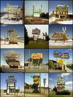 Steve Fitch: Motel signs, 1979 to 1989