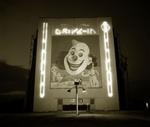 Steve Fitch: Chalk Hill Drive-in theater, Highway 80, Dallas, Texas, 1973