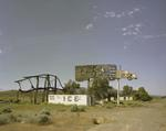 Steve Fitch: Abandoned Truckstop, Winnemucca, Nevada; June 19, 1984